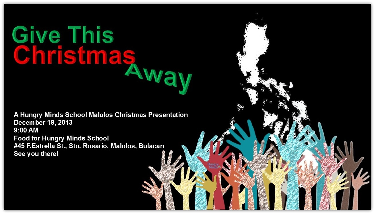 Hungry Minds Christmas Program | Food for Hungry Minds